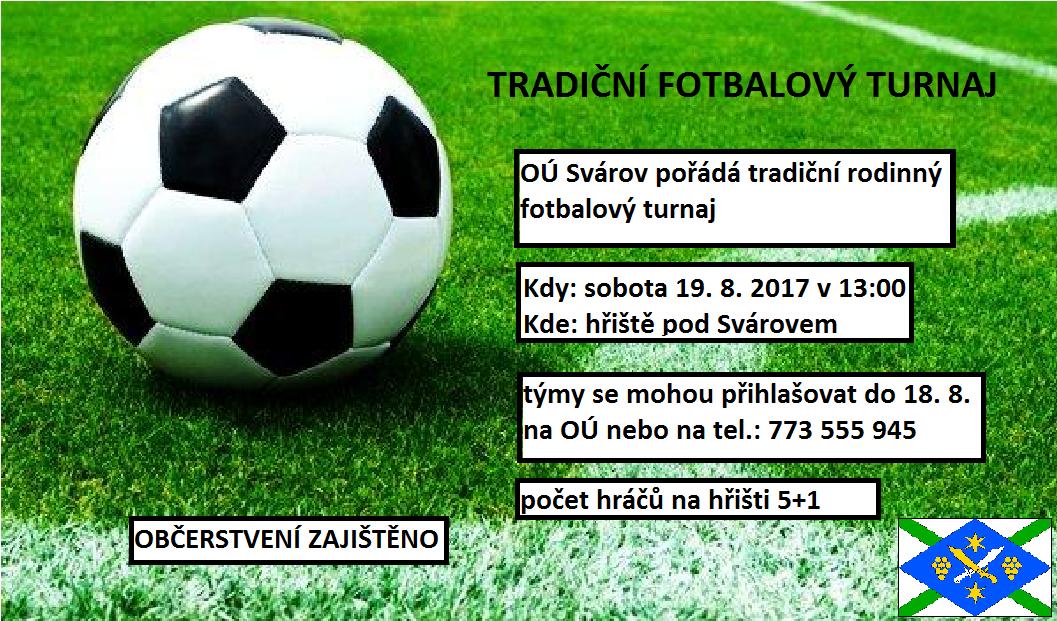 Tradiční fotbalový turnaj
