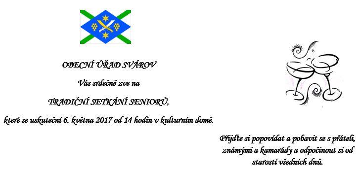 senior pozvánka